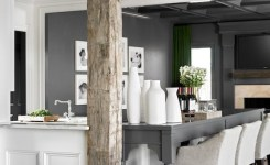 83 Grey Kitchen Wood Island Tips To Designing It Look Luxurious 44