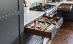 83 Grey Kitchen Wood Island Tips To Designing It Look Luxurious 50