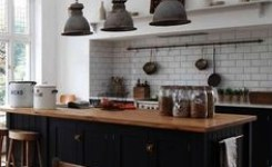 83 Grey Kitchen Wood Island Tips To Designing It Look Luxurious 68