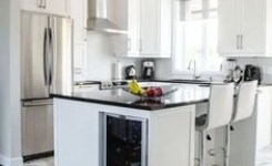 83 Grey Kitchen Wood Island Tips To Designing It Look Luxurious 77