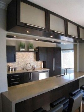 91 Amazing Kitchen Cabinet Design Ideas for A Small Space 2133