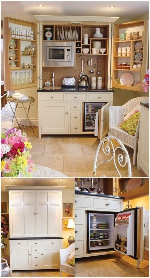 91 Amazing Kitchen Cabinet Design Ideas for A Small Space 2153