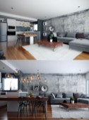 92 Amazing Living Room Designs and Ideas for Your Studio Apartment 2817