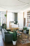 92 Amazing Living Room Designs and Ideas for Your Studio Apartment 2818