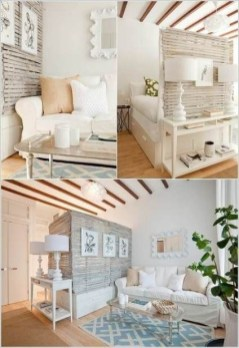 92 Amazing Living Room Designs and Ideas for Your Studio Apartment 2809