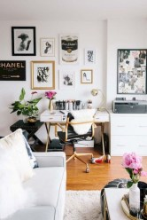 92 Amazing Living Room Designs and Ideas for Your Studio Apartment 2828