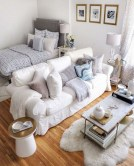 92 Amazing Living Room Designs and Ideas for Your Studio Apartment 2837
