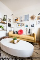 92 Amazing Living Room Designs and Ideas for Your Studio Apartment 2838