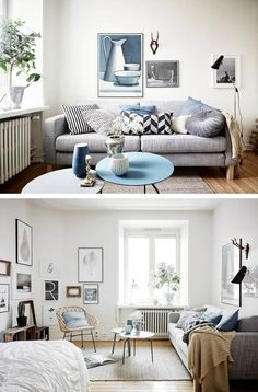 92 Amazing Living Room Designs and Ideas for Your Studio Apartment 2856