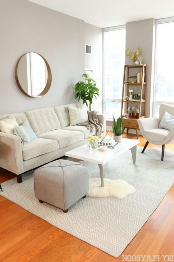 92 Amazing Living Room Designs and Ideas for Your Studio Apartment 2867