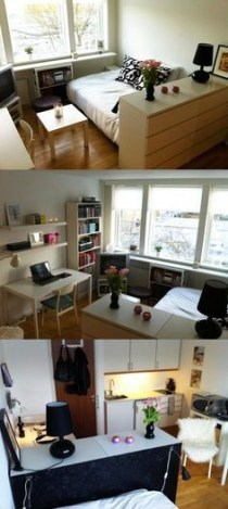92 Amazing Living Room Designs and Ideas for Your Studio Apartment 2874