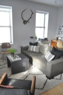 92 Amazing Living Room Designs and Ideas for Your Studio Apartment 2875