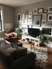 92 Amazing Living Room Designs and Ideas for Your Studio Apartment 2894