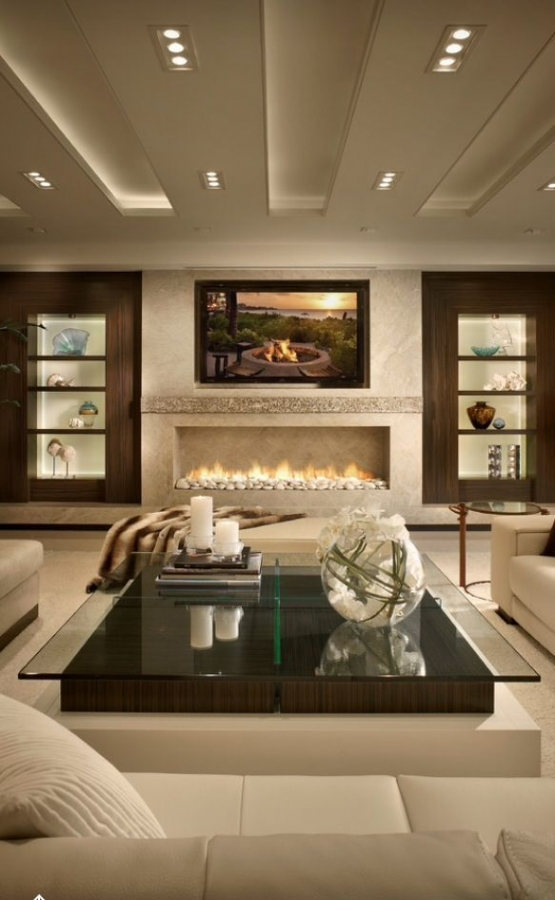 92 Beautiful Living Room Ceilings for Your Living Room Design Inspiration 4169