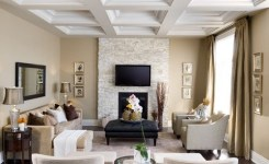 92 Beautiful Living Room Ceilings For Your Living Room Design Inspiration 38