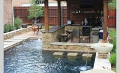 97 Most Popular Backyard Designs With Pool Ideas 25
