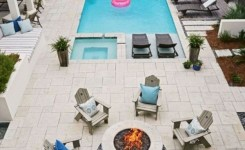 97 Most Popular Backyard Designs With Pool Ideas 59