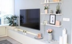 55 Tv Feature Wall Design Ideas 51