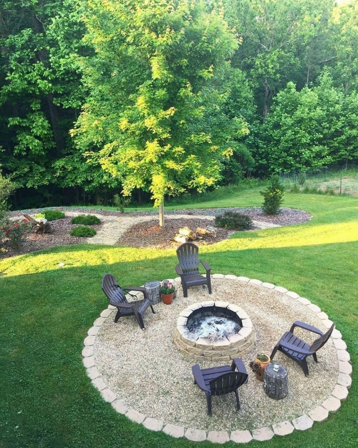 69 Backyard Firepit Design that Inspires - How to Improve Your Landscape with A Backyard Firepit 6417