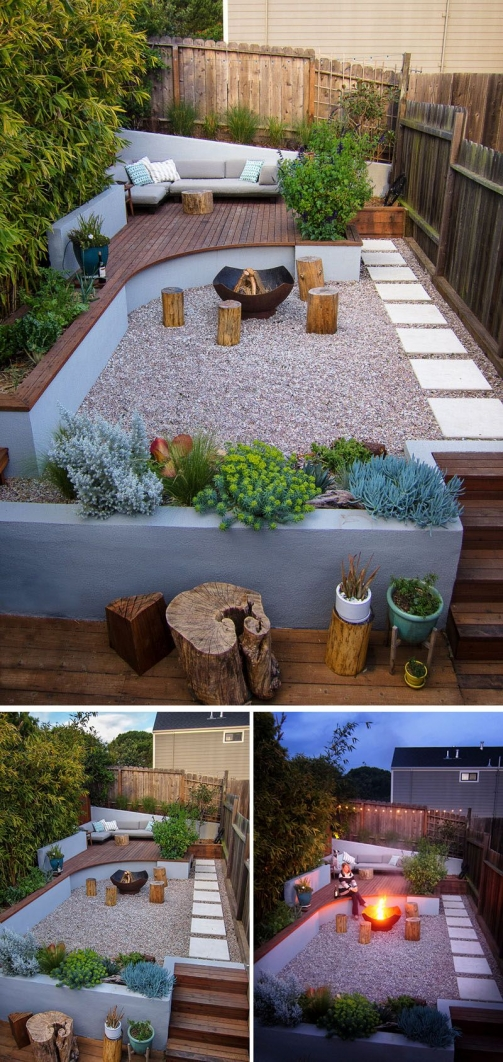 69 Backyard Firepit Design that Inspires - How to Improve Your Landscape with A Backyard Firepit 6469