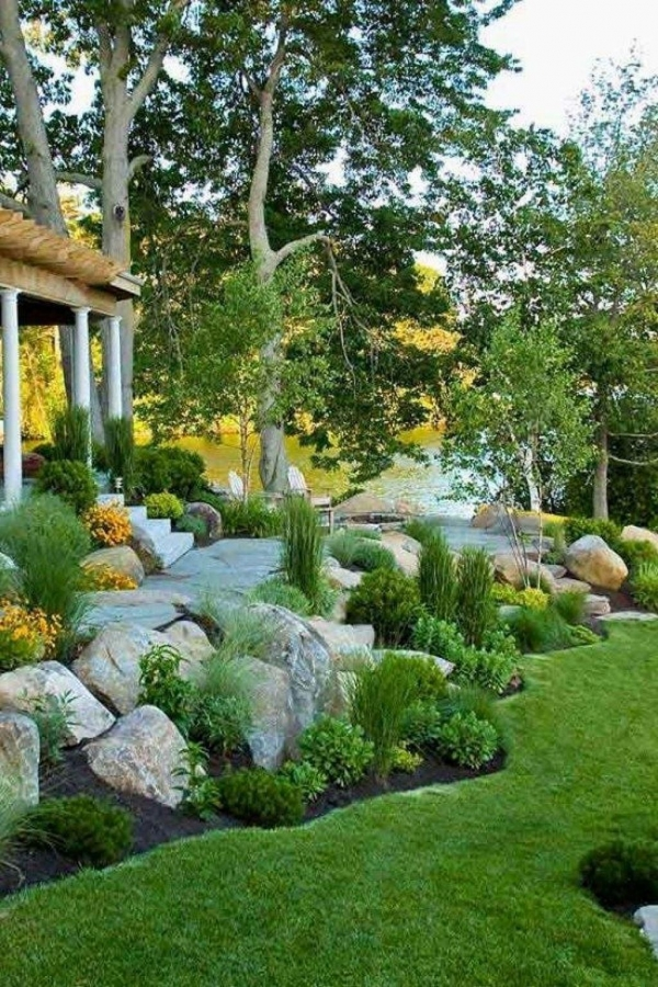 72 Amazing Front Yard Landscaping for Plans 4453