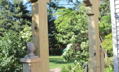 84 Backyard Decoration Ideas For Transform Your Backyard With A Quality Wood Pergola Or Arbor 14