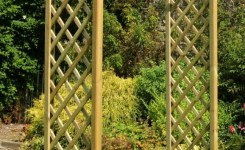 84 Backyard Decoration Ideas For Transform Your Backyard With A Quality Wood Pergola Or Arbor 19