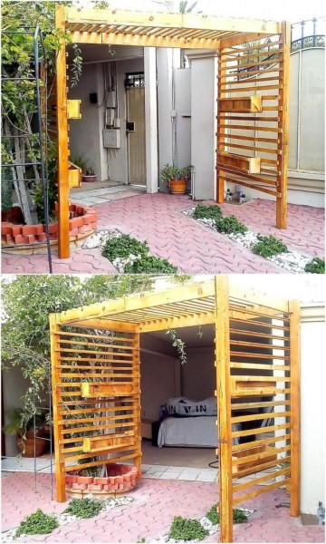 84 Backyard Decoration Ideas for Transform Your Backyard with A Quality Wood Pergola or Arbor 6351