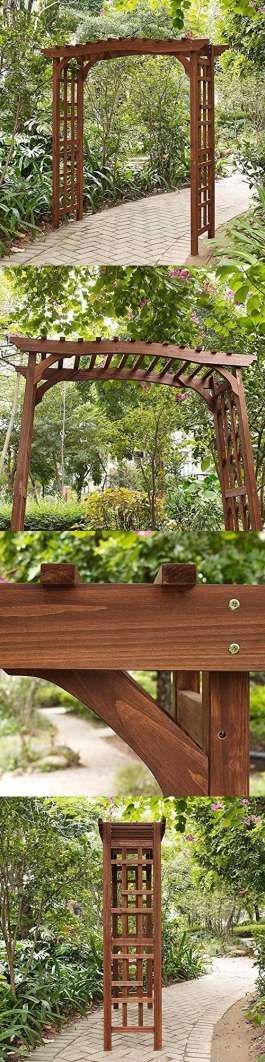 84 Backyard Decoration Ideas for Transform Your Backyard with A Quality Wood Pergola or Arbor 6360