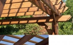 84 Backyard Decoration Ideas For Transform Your Backyard With A Quality Wood Pergola Or Arbor 47