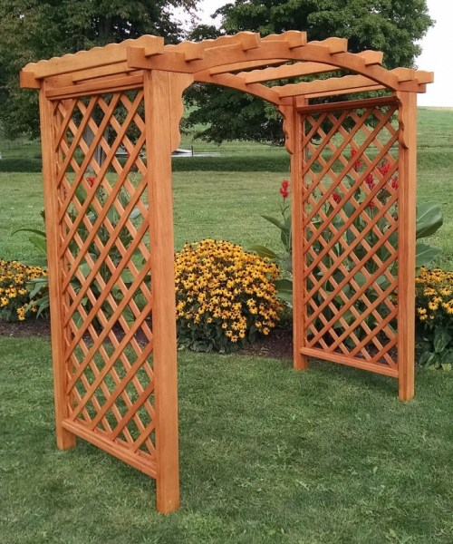 84 Backyard Decoration Ideas for Transform Your Backyard with A Quality Wood Pergola or Arbor 6392