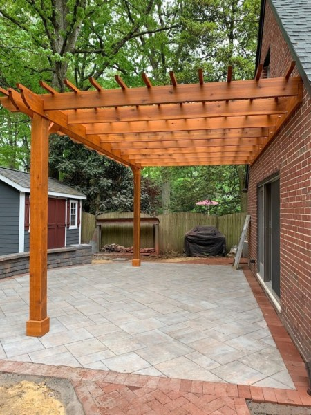 84 Backyard Decoration Ideas for Transform Your Backyard with A Quality Wood Pergola or Arbor 6409