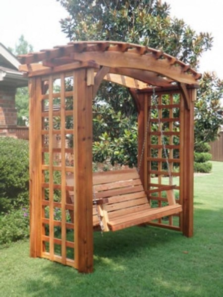 84 Backyard Decoration Ideas for Transform Your Backyard with A Quality Wood Pergola or Arbor 6410