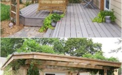 84 Backyard Decoration Ideas For Transform Your Backyard With A Quality Wood Pergola Or Arbor 82