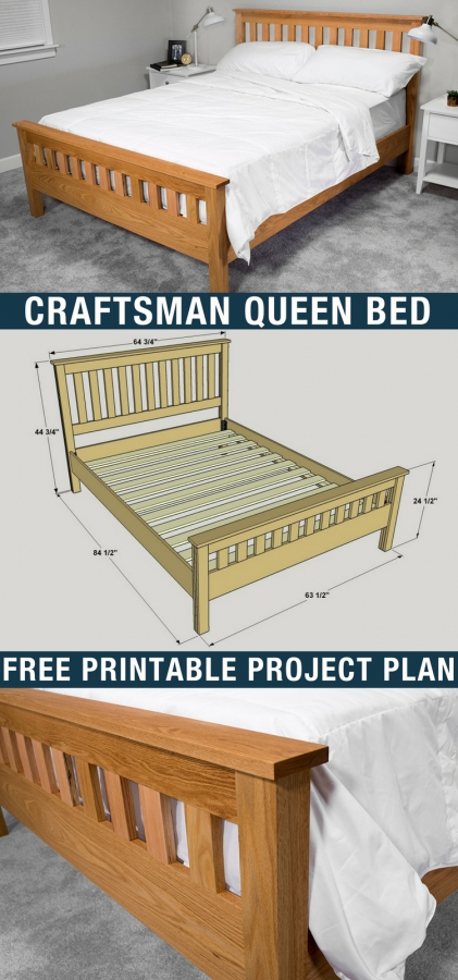 85 Models Of Queen Bed Beds for Inspiration Of Your Woodworking Project 4959