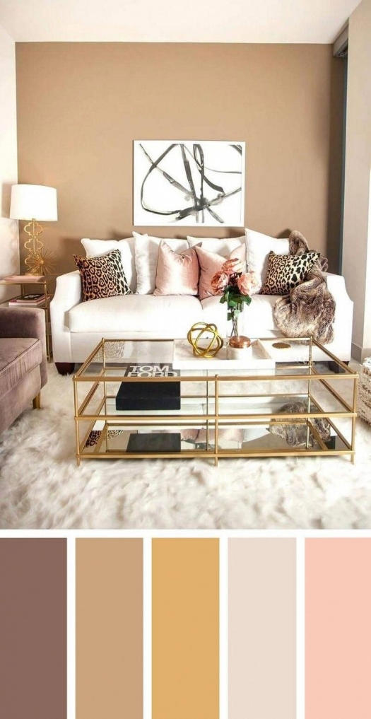 90 attractive Interior Design Color Schemes From Various Rooms 5277