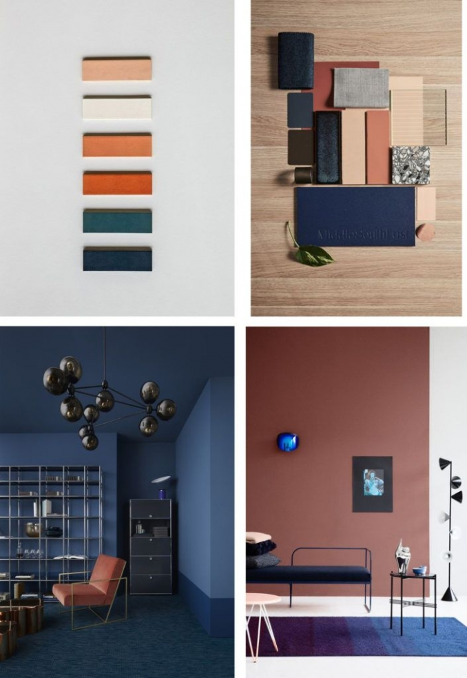 90 attractive Interior Design Color Schemes From Various Rooms 5245