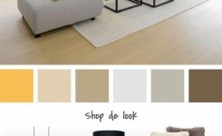 90 Attractive Interior Design Color Schemes From Various Rooms 64