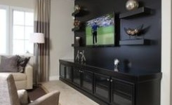 90 Wall Mount Tv Ideas For Small Living Room 29
