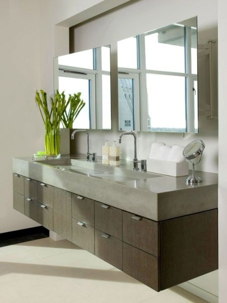 91 Modern Double Bathroom Vanity - is Your Modern Double Bathroom Vanity Large Enough to Accommodate Two People Simultaneously? 5871