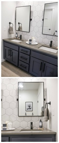 91 Modern Double Bathroom Vanity - is Your Modern Double Bathroom Vanity Large Enough to Accommodate Two People Simultaneously? 5894