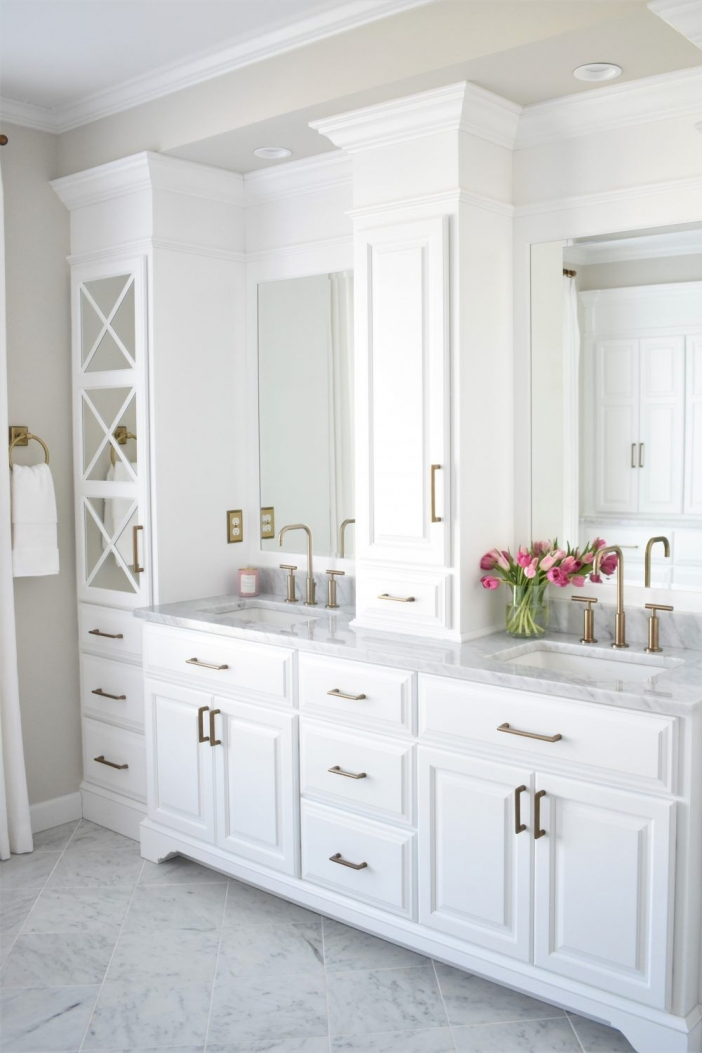 91 Modern Double Bathroom Vanity - is Your Modern Double Bathroom Vanity Large Enough to Accommodate Two People Simultaneously? 5902