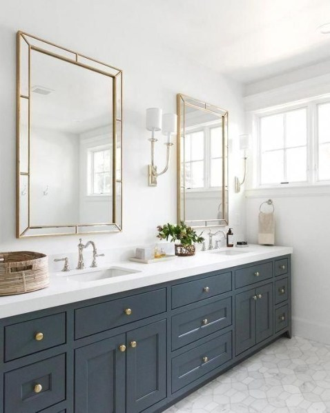91 Modern Double Bathroom Vanity - is Your Modern Double Bathroom Vanity Large Enough to Accommodate Two People Simultaneously? 5907