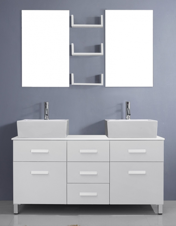 91 Modern Double Bathroom Vanity - is Your Modern Double Bathroom Vanity Large Enough to Accommodate Two People Simultaneously? 5908