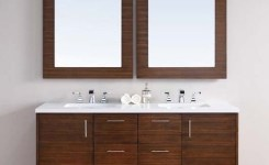 91 Modern Double Bathroom Vanity Is Your Modern Double Bathroom Vanity Large Enough To Accommodate Two People Simultaneously 58