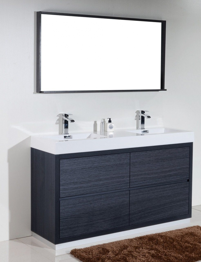 91 Modern Double Bathroom Vanity - is Your Modern Double Bathroom Vanity Large Enough to Accommodate Two People Simultaneously? 5876