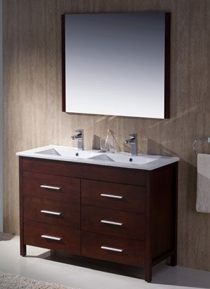 91 Modern Double Bathroom Vanity - is Your Modern Double Bathroom Vanity Large Enough to Accommodate Two People Simultaneously? 5939