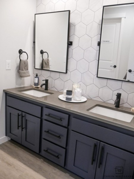 91 Modern Double Bathroom Vanity - is Your Modern Double Bathroom Vanity Large Enough to Accommodate Two People Simultaneously? 5878