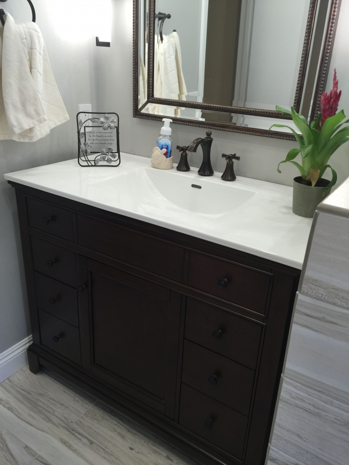91 Modern Double Bathroom Vanity - is Your Modern Double Bathroom Vanity Large Enough to Accommodate Two People Simultaneously? 5951