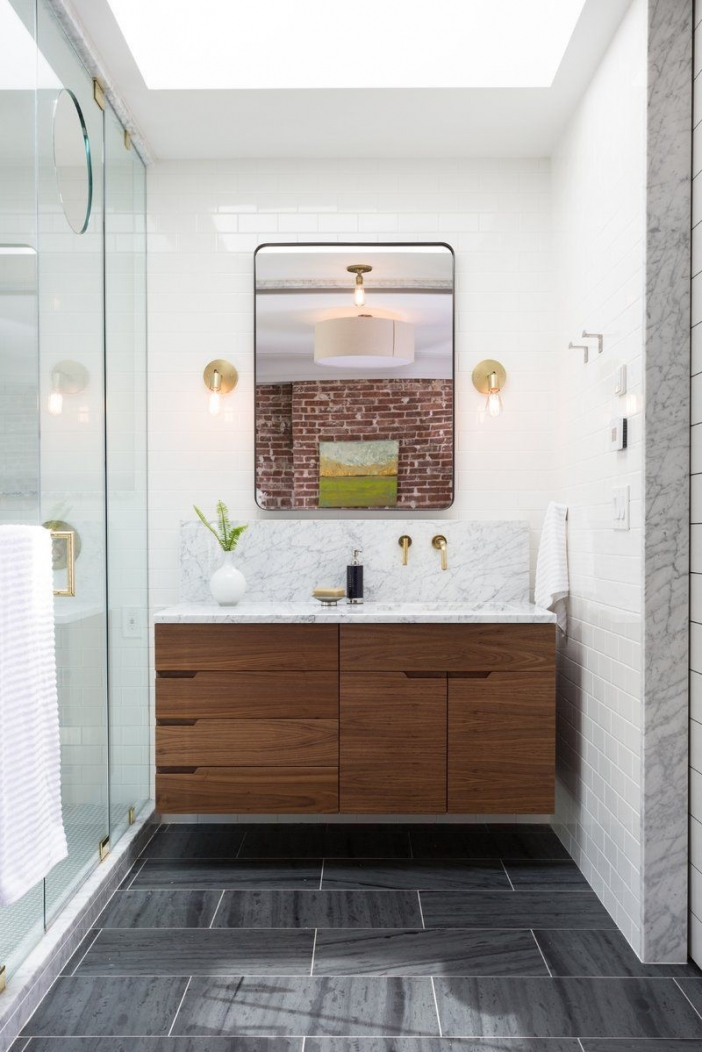 91 Modern Double Bathroom Vanity - is Your Modern Double Bathroom Vanity Large Enough to Accommodate Two People Simultaneously? 5955